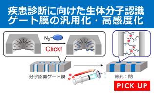 疾患診断に向けた生体分子認識ゲート膜の汎用化・高感度化